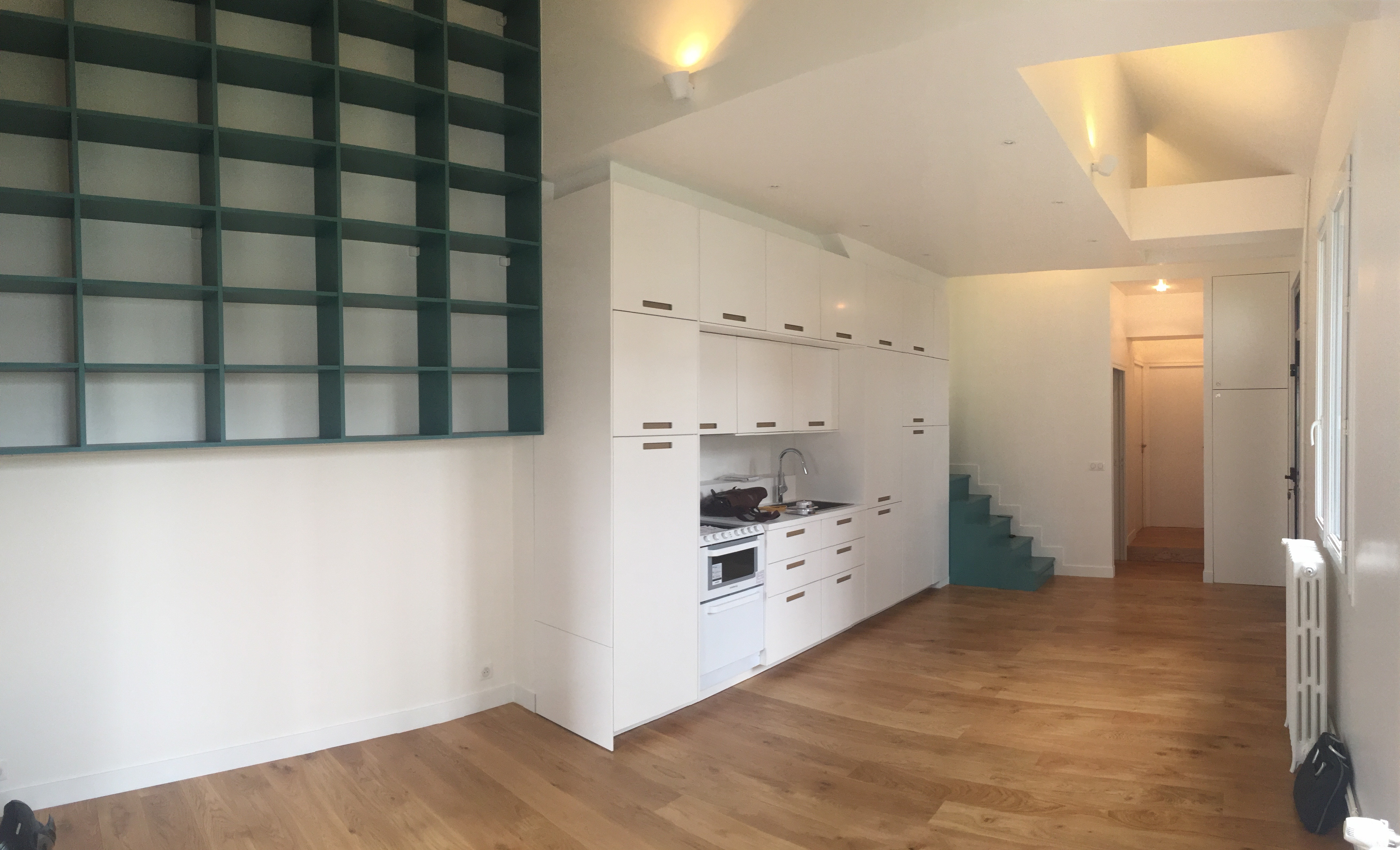 Fin de Chantier transformation d'un local 80m2
